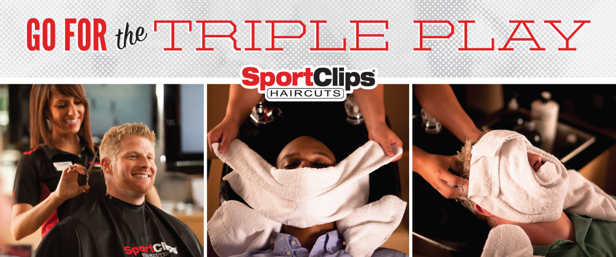 The Sport Clips Haircuts of Peoria-Sheridan Village  Triple Play